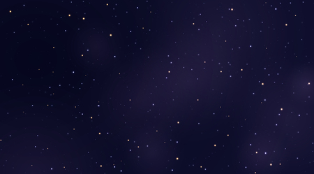 Space stars background. Light night sky vector. Фото со стока