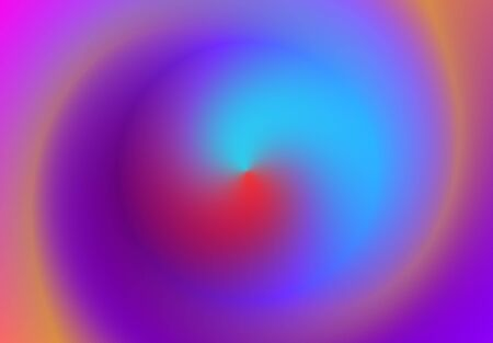 Gradient blue lilac abstract background. backdrop minimal hologram. holographic spiral swirling pattern. vector illustration