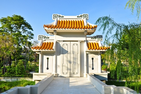 Chinese temple in Burapha University photo