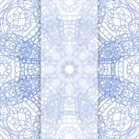 frosted: Abstract lace background with frosted glass on it, vector illustration