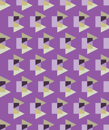 succession: Seamless decorative background with geometric shapes