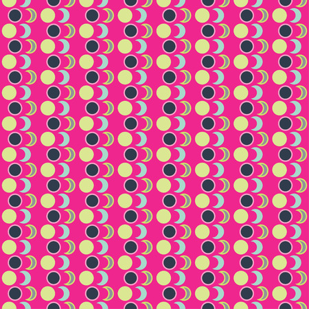trait: Seamless decorative background with geometric shapes