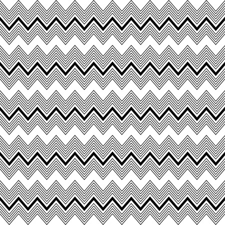 Seamless decorative vector background with zigzag lines Illustration