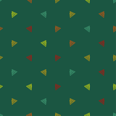 abstract figures: Seamless decorative vector background with abstract figures