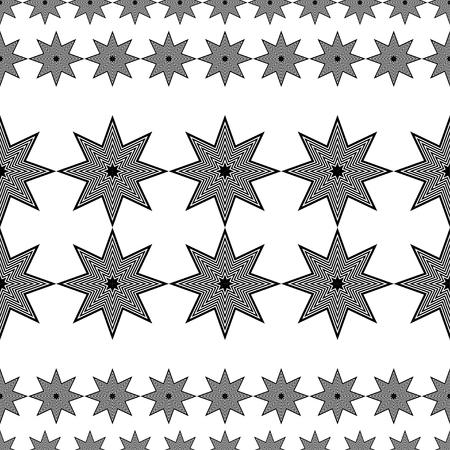 figuras abstractas: Sin fisuras vector de fondo decorativo con figuras abstractas