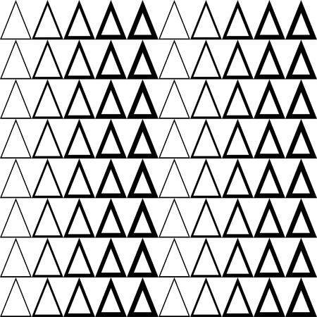 figuras abstractas: Fondo inconsútil blanco y negro del vector decorativo con figuras abstractas