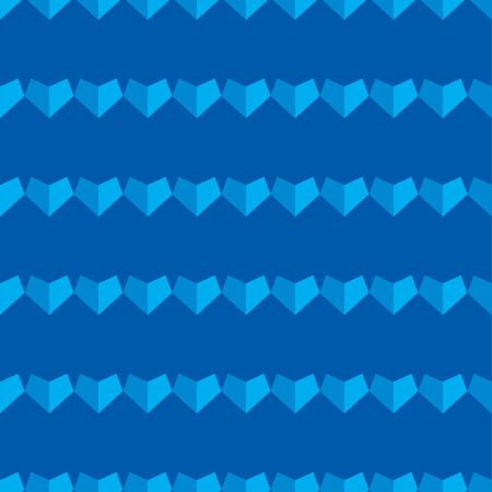 amorousness: Seamless vector background with decorative polygonal hearts