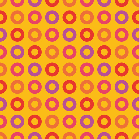 Seamless vector decorative background with decorative rings. Print. Cloth design, wallpaper.