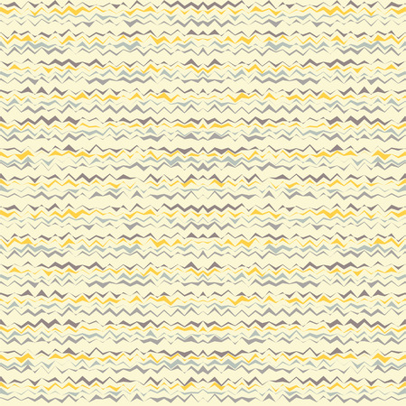 homespun: Seamless vector background with zigzag. Print. Repeating background. Cloth design, wallpaper.