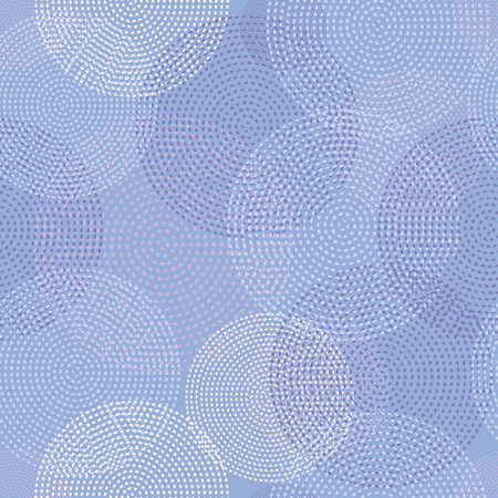 unhindered: Seamless vector background with decorative dotted circles. Print. Cloth design, wallpaper. Illustration