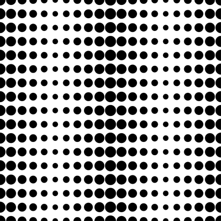 unhindered: Seamless vector decorative background with circles and polka dots. Print. Cloth design, wallpaper.