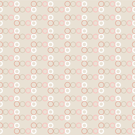 Seamless vector decorative background with rings. Print. Cloth design, wallpaper. Illustration