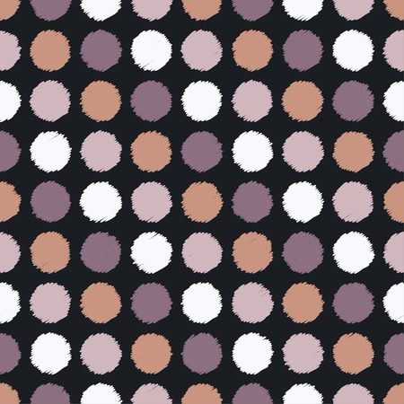 Seamless vector decorative background with polka dots. Print. Cloth design, wallpaper.