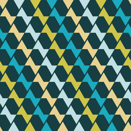 homespun: Seamless vector background with abstract geometric pattern. Print. Repeating background. Cloth design, wallpaper. Illustration
