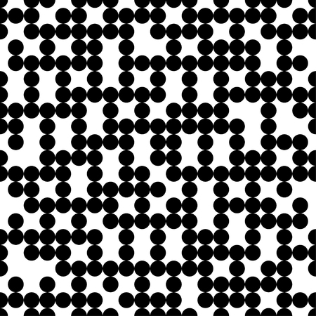 unobstructed: Seamless vector decorative background with circles and polka dots. Print. Cloth design, wallpaper.