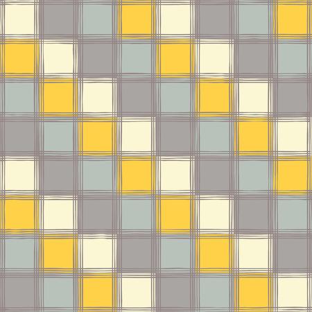 homespun: Ethnic boho seamless pattern with cage. Print. Cloth design, wallpaper.