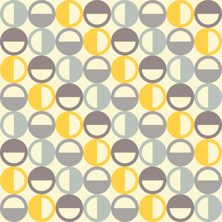 unhindered: Seamless vector background with decorative circles. Print. Cloth design, wallpaper. Illustration