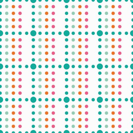 unhindered: Seamless vector decorative background with polka dots. Print. Cloth design, wallpaper.