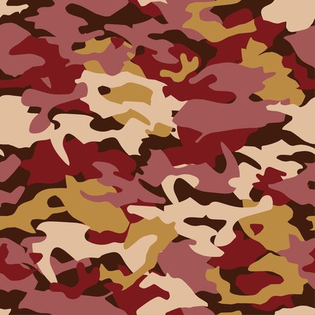 camoflage: Seamless vector camouflage pattern. Print. Repeating background. Cloth design, wallpaper. Illustration