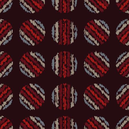 unobstructed: Polka dot. Vector seamless pattern. Print. Cloth design, wallpaper. Illustration