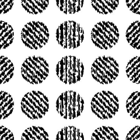 À pois. Vector seamless pattern. Impression. conception de tissu, papier peint. Vecteurs