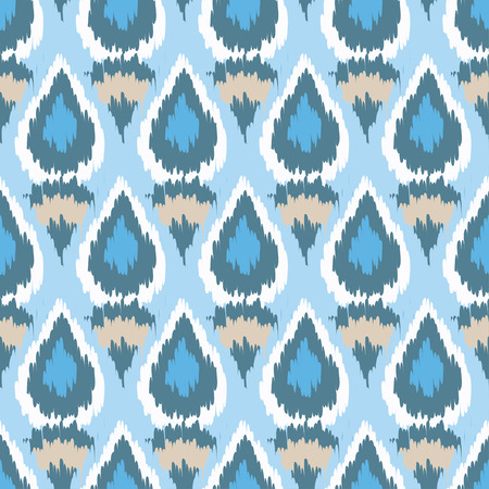 Ethnic boho seamless pattern. Ikat. Print. Repeating background. Cloth design, wallpaper. Illustration