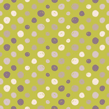 Polka dot. Vector seamless pattern. Print. Repeating background. Cloth design, wallpaper.