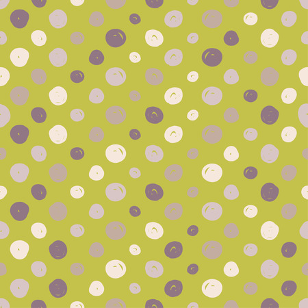 canvas print: Polka dot. Vector seamless pattern. Print. Repeating background. Cloth design, wallpaper. Illustration