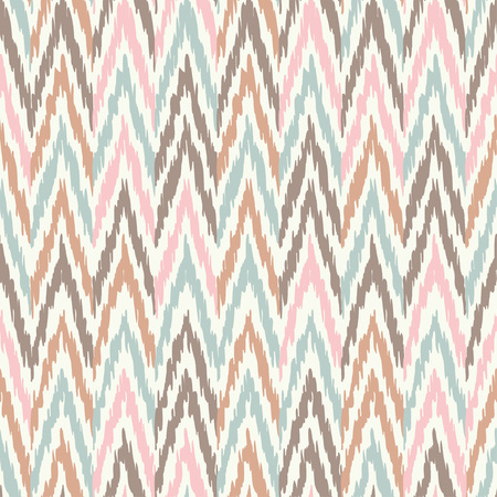 Ethnic boho seamless pattern. Ikat. Print. Repeating background. Cloth design, wallpaper. 矢量图像