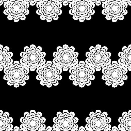 springtime: Seamless decorative floral background. Vector illustration. Retro motif. Textile rapport.
