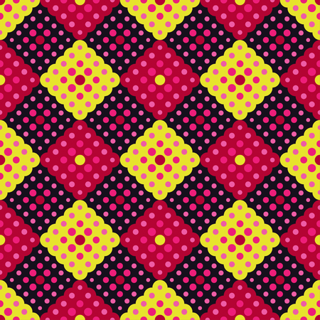 Seamless background with abstract geometric pattern.Textile rapport. Stok Fotoğraf - 83340241