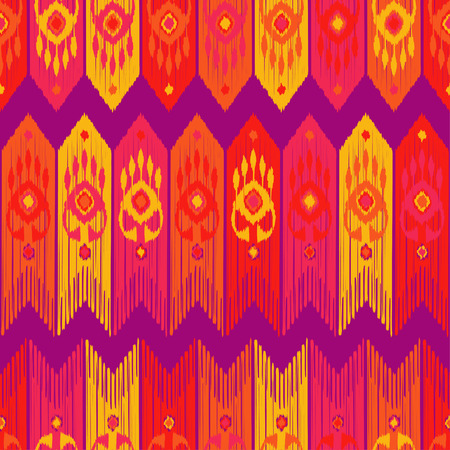 Ethnic boho seamless pattern. Abstract geometric pattern. Retro motif. Textile rapport.