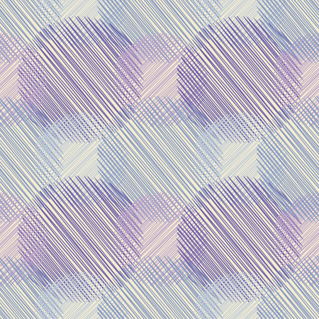Polka dot seamless pattern with scribble texture. Textile rapport.