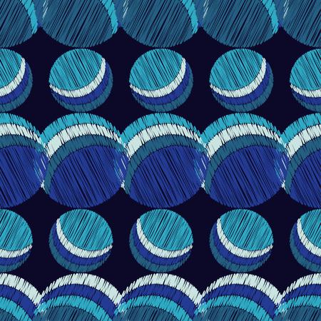 tile: Polka dot seamless pattern. Scribble texture. Textile rapport.