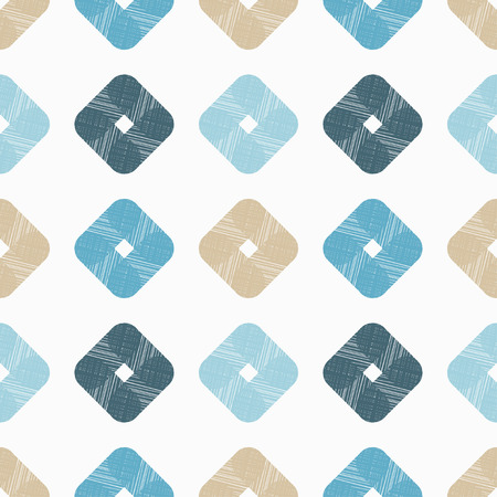 tile: Seamless background with abstract geometric pattern. Grunge texture. Textile rapport.