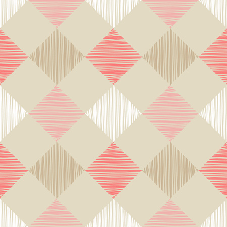A Seamless background with abstract geometric pattern. Scribble texture.