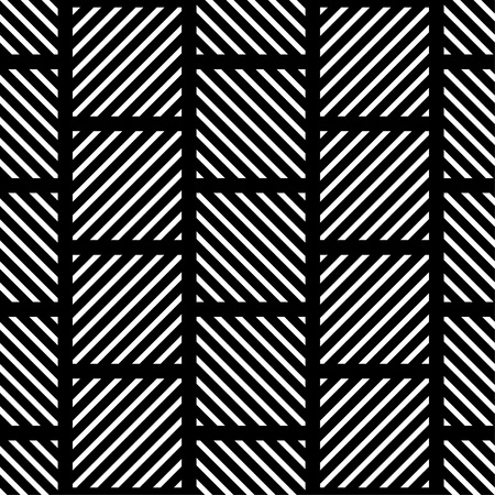 Seamless geometric background. The texture of the stripes. Textile rapport.