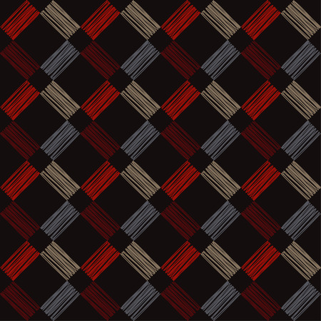 Seamless geometric pattern. Trendy seamless pattern designs. Textile rapport. 向量圖像