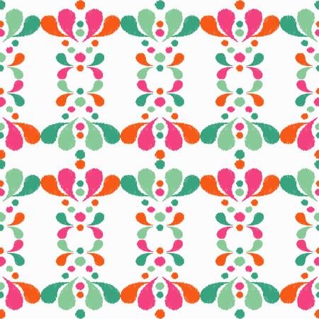 Ethnic boho seamless pattern Illustration