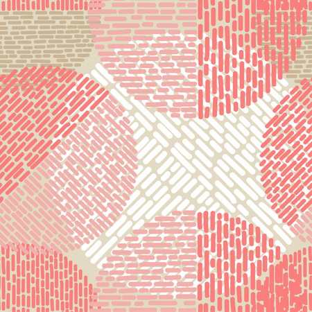 Polka dot seamless pattern. Иллюстрация
