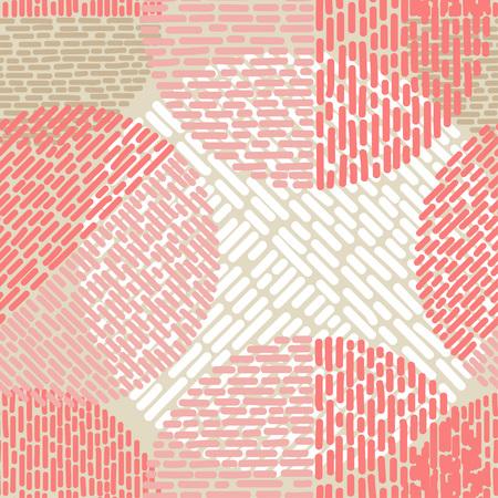 Polka dot seamless pattern. Illustration