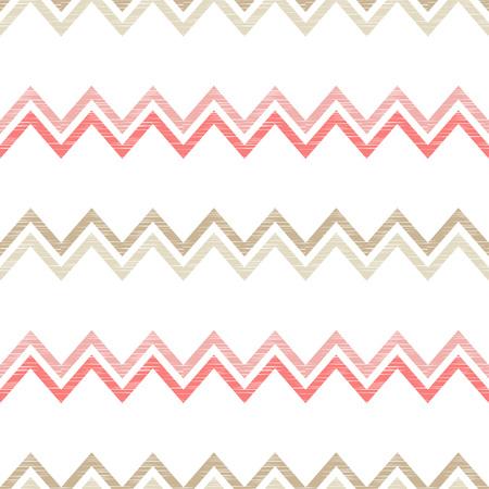 Seamless geometric pattern Zigzag texture