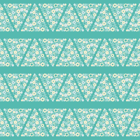 Seamless geometric pattern. Drops texture Vector illustration.