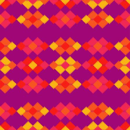 Black and white Ethnic boho seamless pattern. Scribble texture. Folk motif. Textile rapport. Illustration