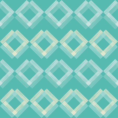 Seamless geometric pattern with  multi-colored squares. Illustration