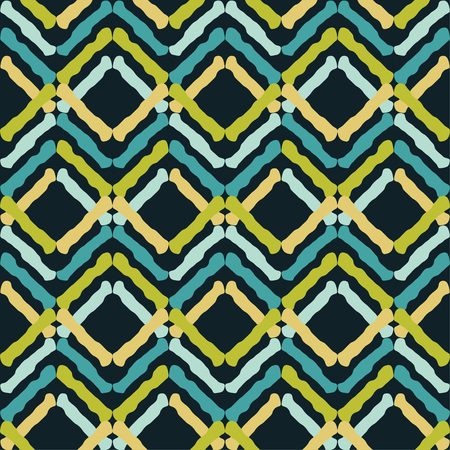 Seamless geometric pattern. Texture of multi-colored stripes. Scribble texture. Textile rapport.