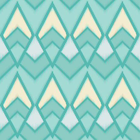 Seamless geometric pattern. The texture of rhombus. Embroidery on fabric. Scribble texture. Textile rapport.