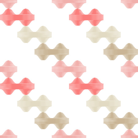 Seamless geometric pattern. Embroidery on fabric  Textile rapport.