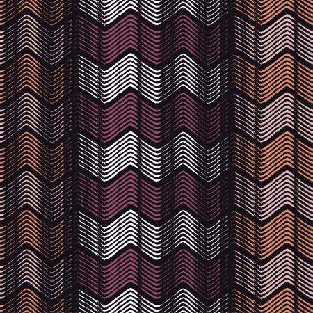 Seamless geometric pattern. Zigzag pattern.