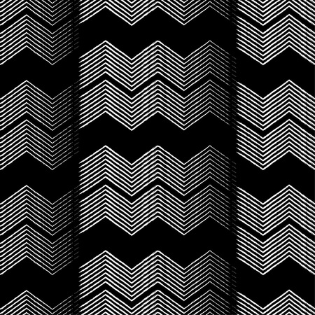Seamless geometric pattern. Zigzag pattern.